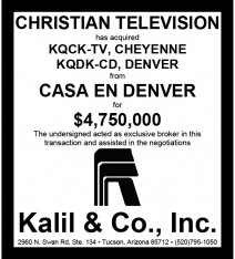 Website - Casa en Denver KQCK-TV KQDK-CD and Christian TV