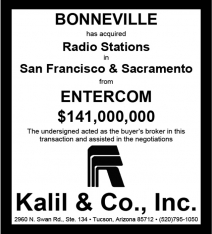 Website - Entercom & Bonneville