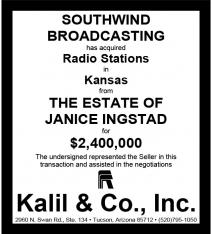 Website - Ingstad Estate Kansas and Southwind
