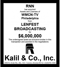 Website - Lenfest Bdcstg WMCN-TV and RNN