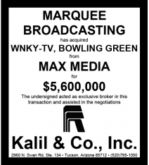 Website - Max Media WNKY-TV Marquee Bdcstg