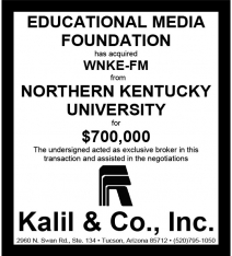 Website - NKU WNKE-FM and EMF