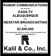 Website - Nexstar KASA-TV and Ramar