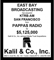 Microsoft Word - Acrylic - Pappas KTRB-AM and East Bay Bdcstg.docx