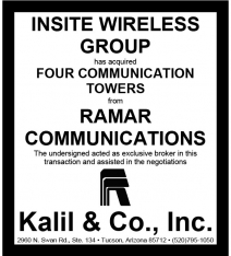 Website - Ramar towers and InSite Wireless