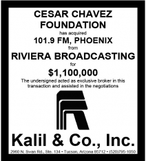 Website - Riviera Bdcstg 101.9 FM PHX and Cesar Chavez