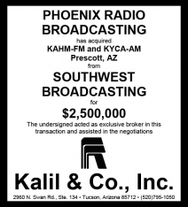 Website - Southwest Bdcstg and PHX Radio Bdcstg