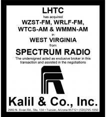 Website - Spectrum Radio and LHTC