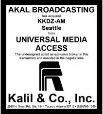 Website - Universal Media KKDZ-AM and Akal Bdcstg