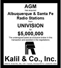 Website - Univision Radio and AGM Nevada